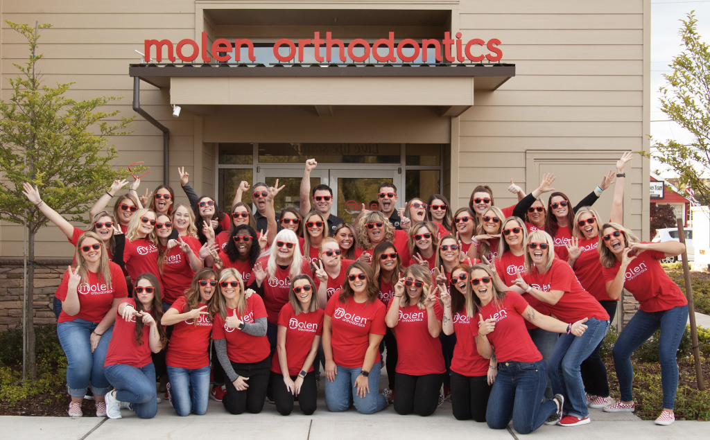 Molen Orthodontics Team Photo
